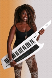 Je joue de la keytar, by Michel Laplante